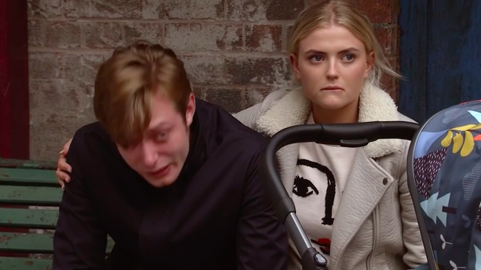 Corrie's grieving Beth turns vengeful on Bethany next week