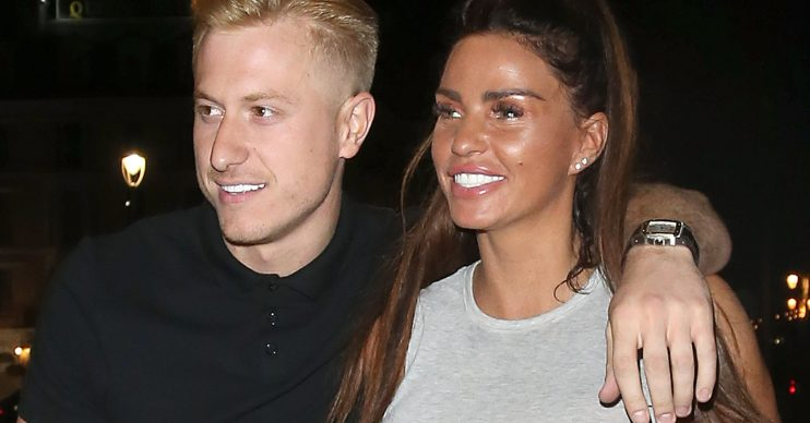 Kris Boyson and Katie Price