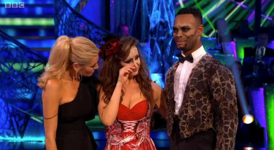 Strictly viewers furious as Catherine Tyldesley is eliminated
