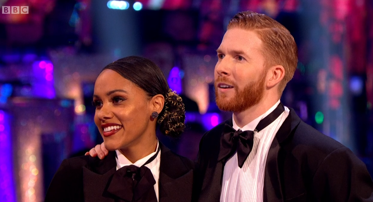 Strictly's Alex Scott addresses claims she didn't want Neil Jones to return