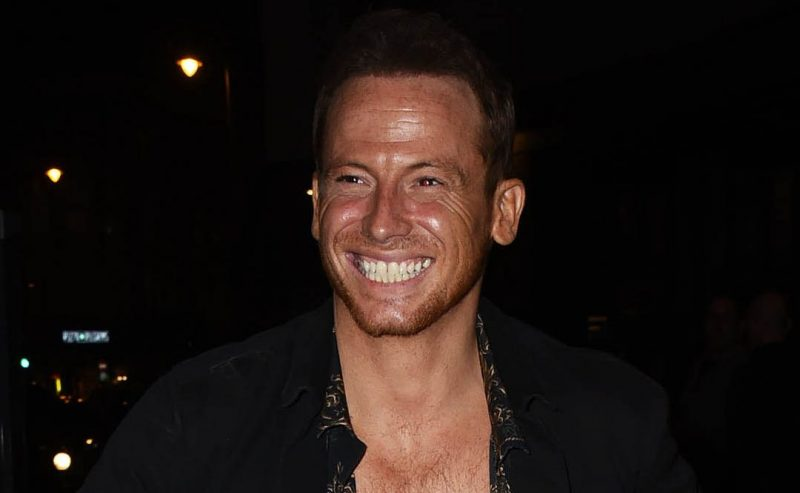 Dancing On Ice: Joe Swash brings his eldest son to work as he takes to the rink