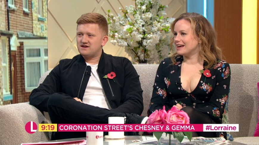 Coronation Street's Sam Aston and Dolly Rose Campbell reveal soap are using FIVE babies to play the quads