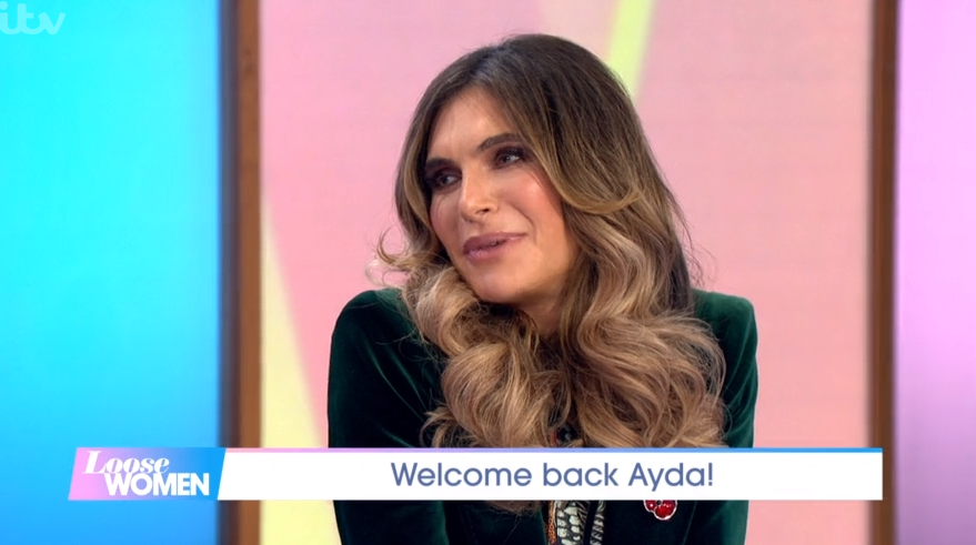 Ayda Field reveals she wants another baby with Robbie Williams