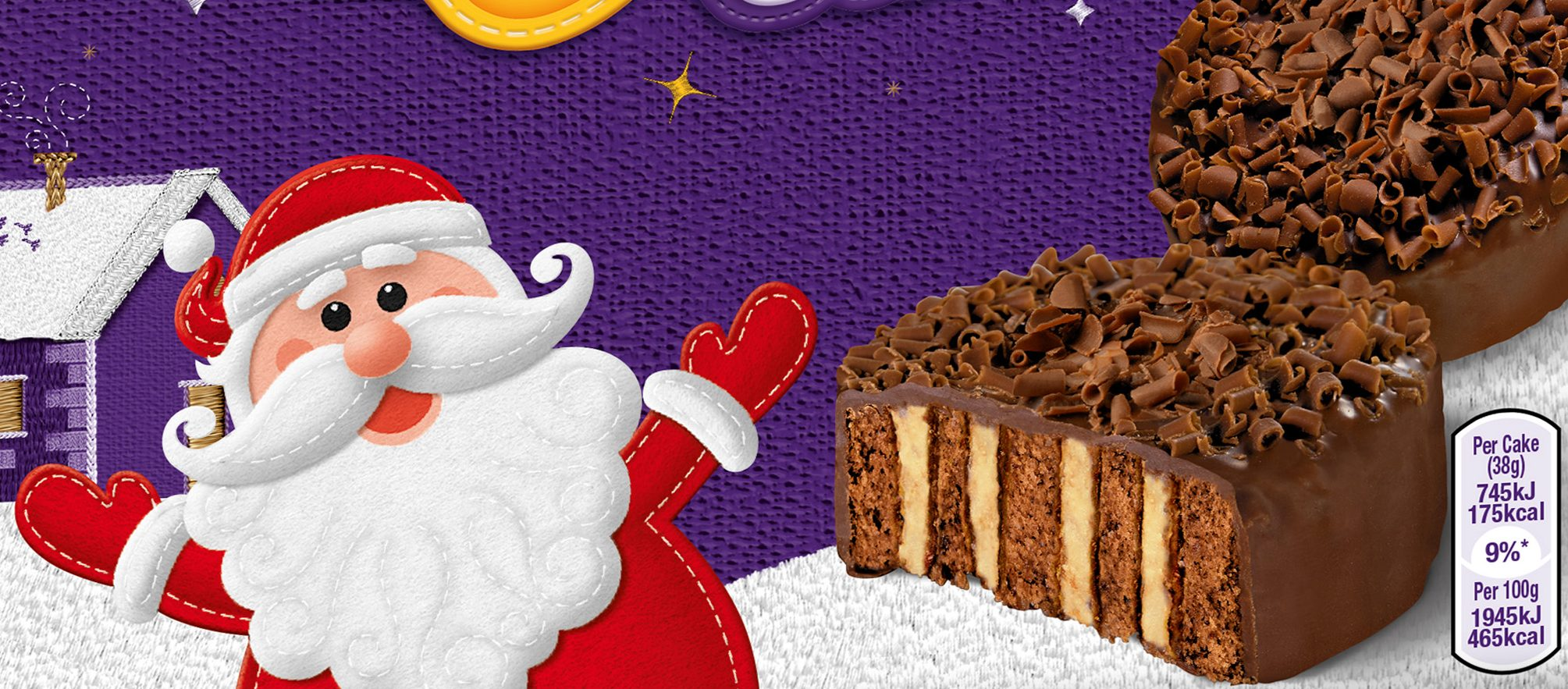 Cadbury announces its Christmas cake range, with new caramel nest cakes and two new Mini Roll flavours