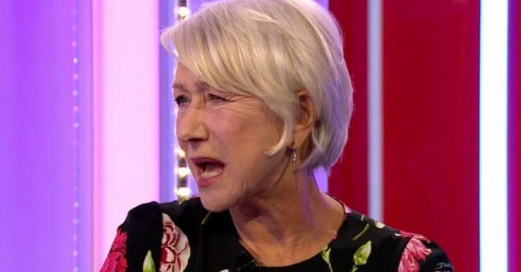 Helen Mirren on The One Show