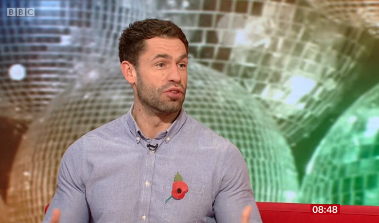 Strictly's Kelvin Fletcher admits he's finding training 'gruelling mentally and physically'