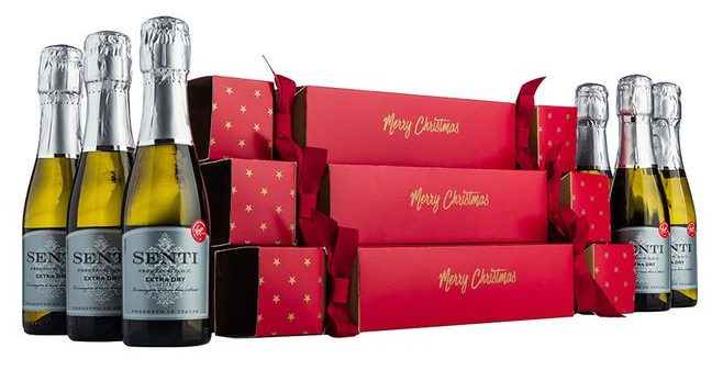 Fizz fans can pull a PROSECCO cracker with their Christmas dinner this year