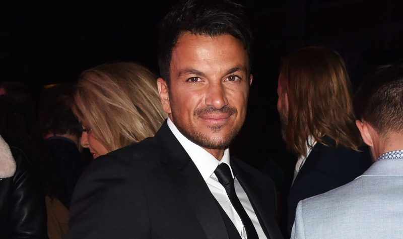 Peter Andre reveals he spilt coffee on the Queen's carpet!