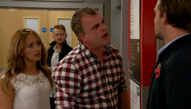 Coronation Street fans rage at Steve's outburst at Ali over Emma's illness
