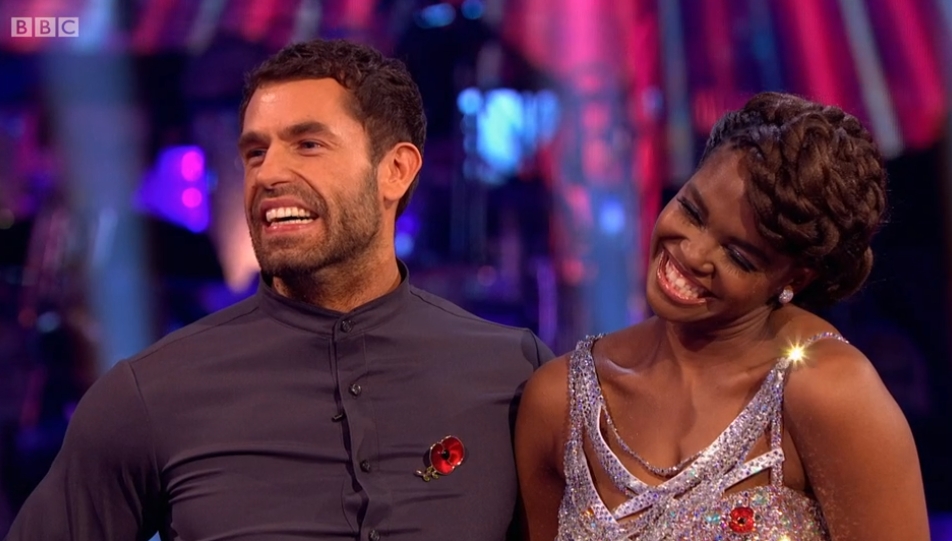 Strictly viewers go wild as they spot Emmerdale's Danny Miller cheering on Kelvin Fletcher