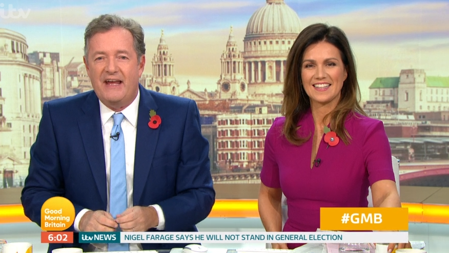 GMB viewers over the moon as Piers Morgan returns after they feared he'd been 'sacked'