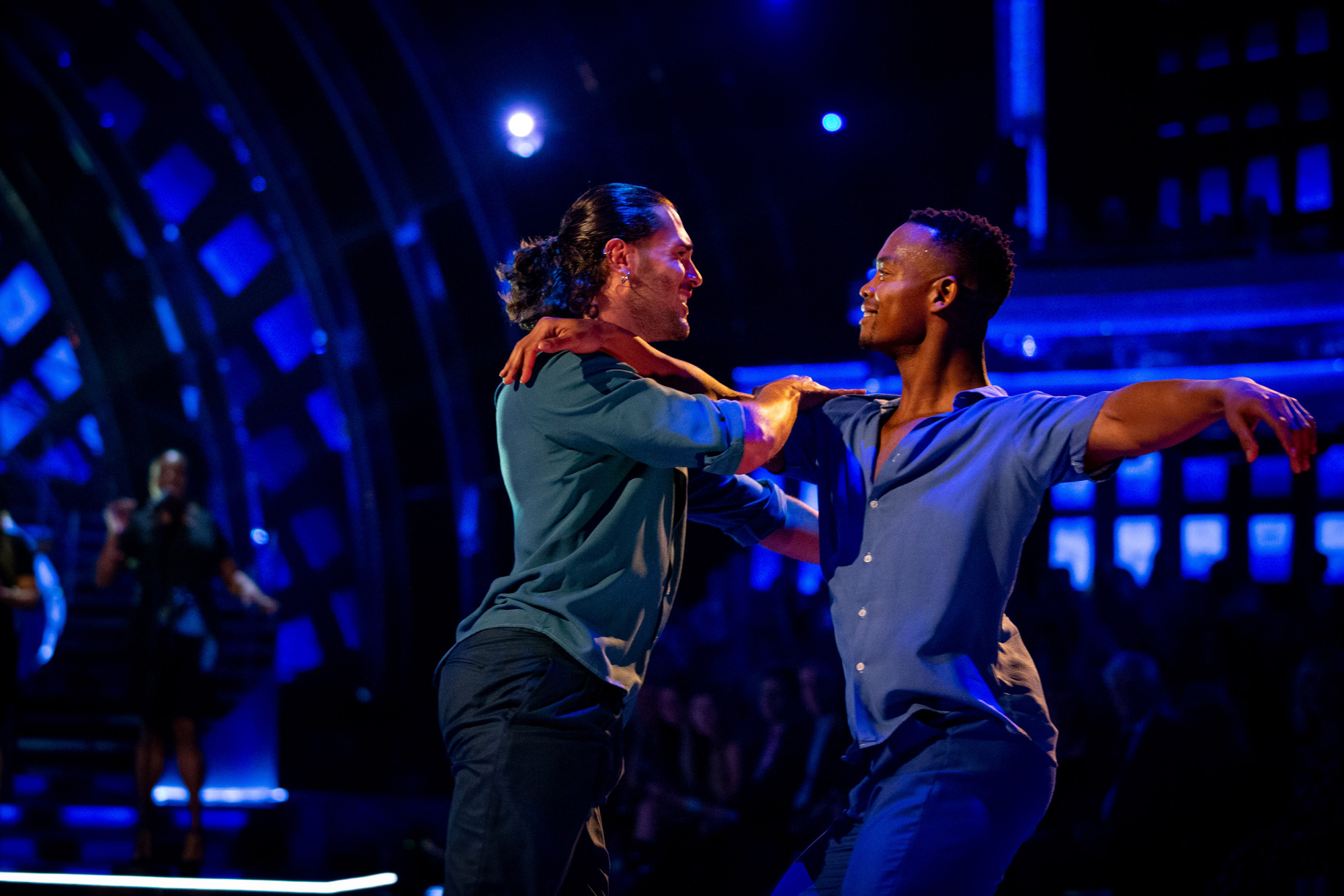 Strictly Come Dancing: Johannes Radebe felt 'liberated' during same-sex dance