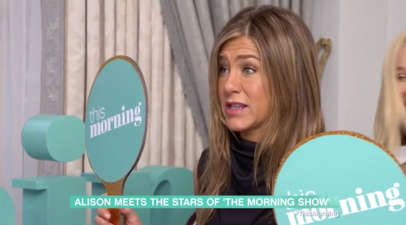 Jennifer Aniston Shocked By Naked Gino Dacampo On This -9466