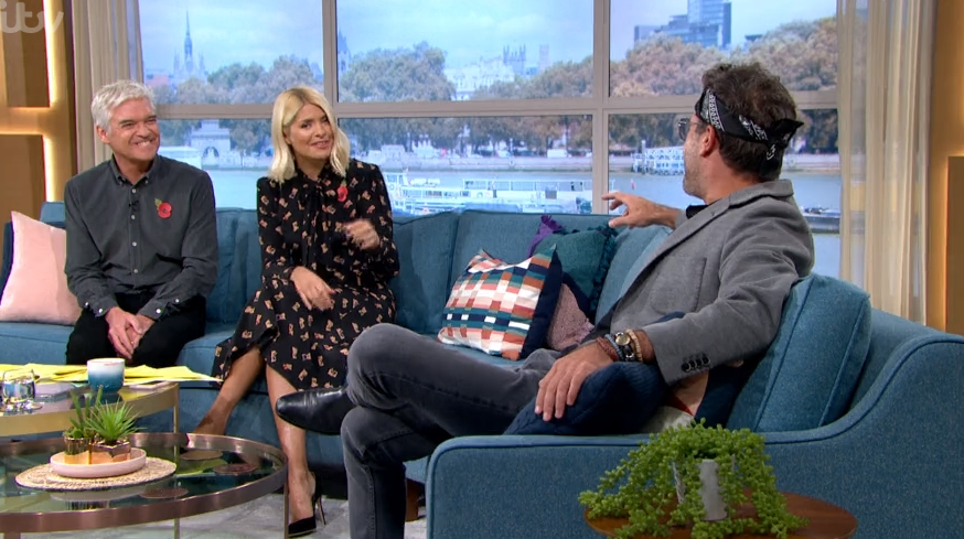 This Morning viewers baffled by Gino D'Acampo's new look as Phil Schofield mocks him