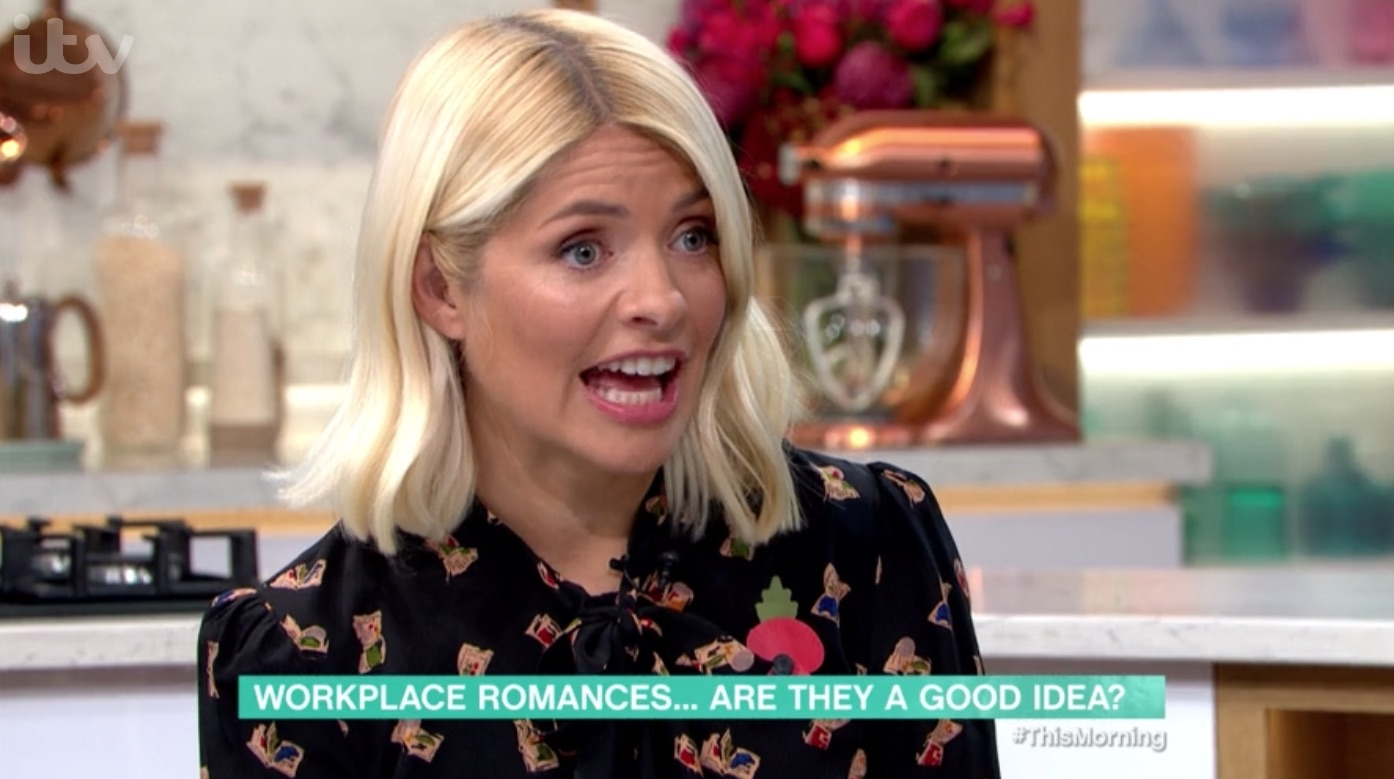 Holly Willoughby 'guilty' of workplace romance as she defends her marriage to Dan Baldwin