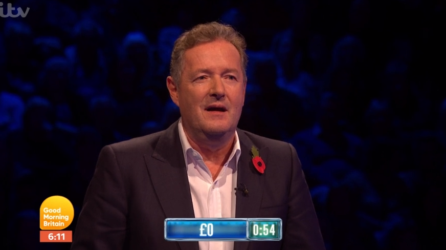Piers Morgan on The Chase