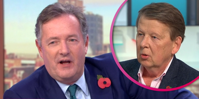 Bill Turnbull reveals he would love to fill in for Piers Morgan on GMB