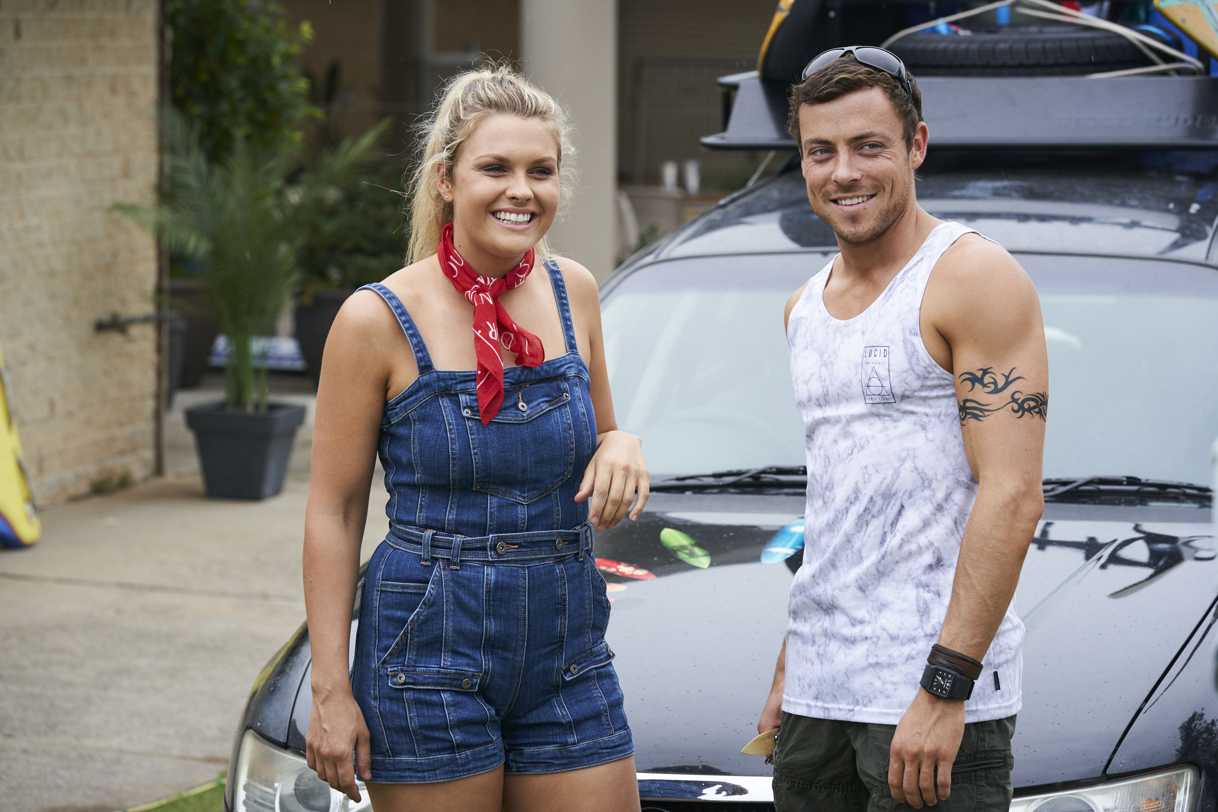 Home and Away's Sophie Dillman and Patrick O'Connor confirm real-life romance