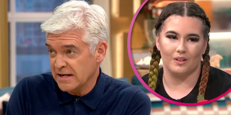 Phillip Schofield slammed for grilling This Morning guest who quit job to eat 5,000 calorie meals on YouTube