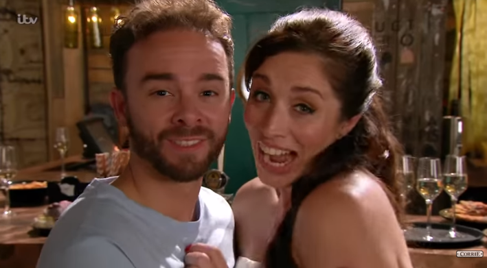 Coronation Street fans think Shona wore a towel to her wedding!