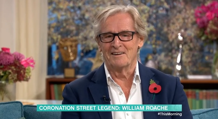 This Morning viewers can't believe Coronation Street's William Roache is 87