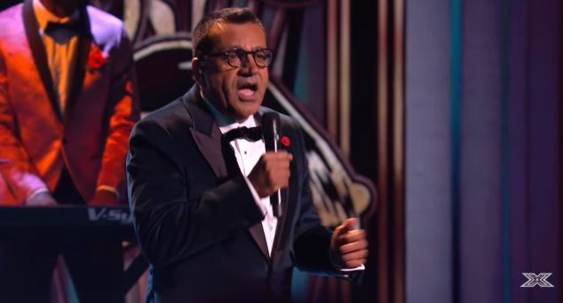 Martin Bashir on X Factor Celebrity