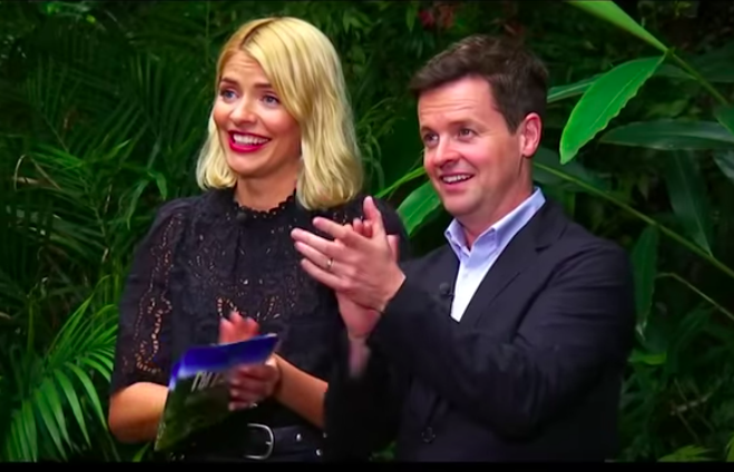 Dec and Holly on I'm a Celeb