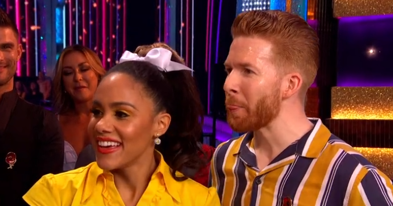 Strictly Come Dancing: Motsi Mabuse's gaffe as she mentions affair to Neil Jones