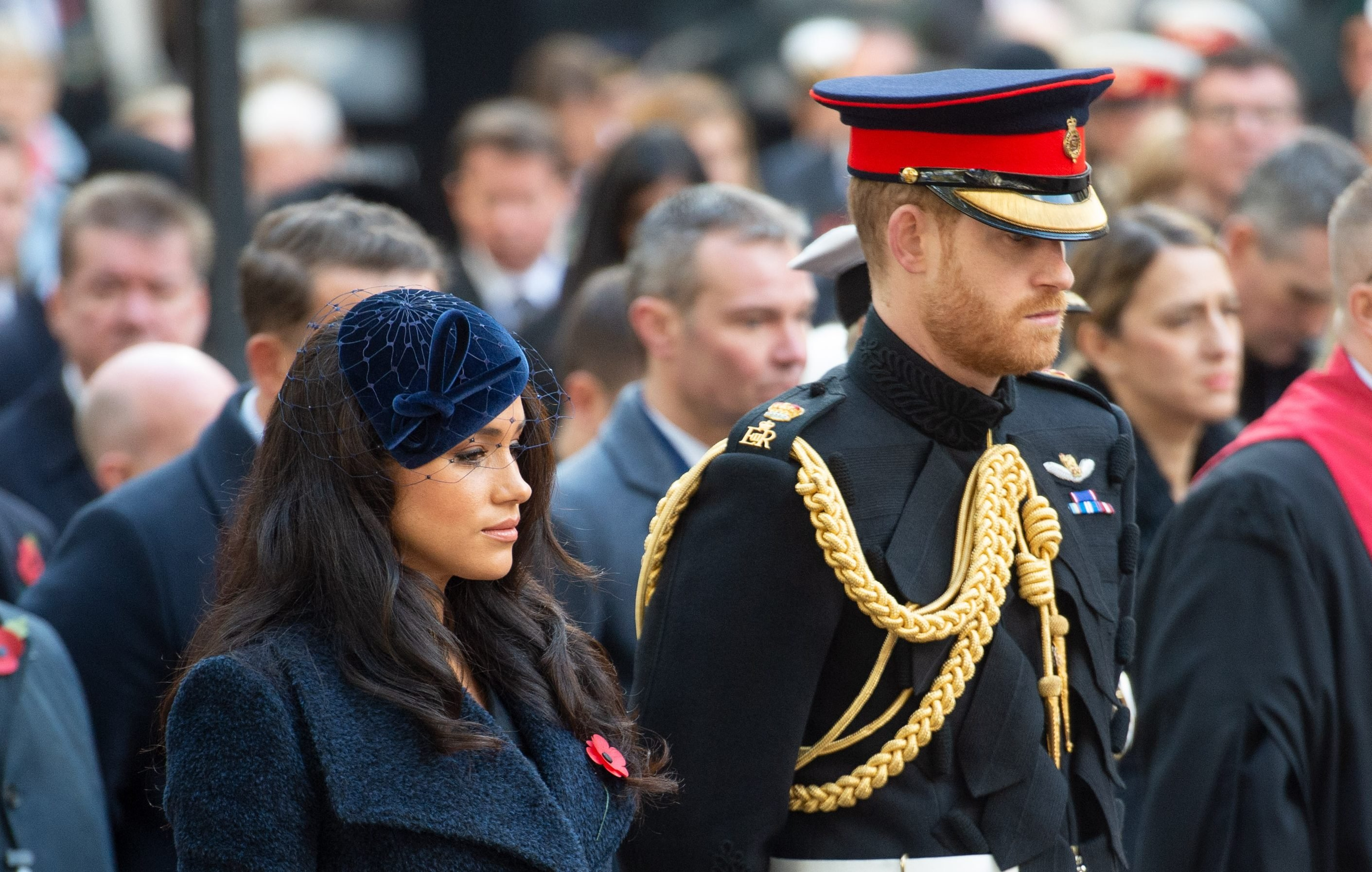 Why Prince Harry and Meghan didn't sit with Prince William and Kate at the Festival of Remembrance
