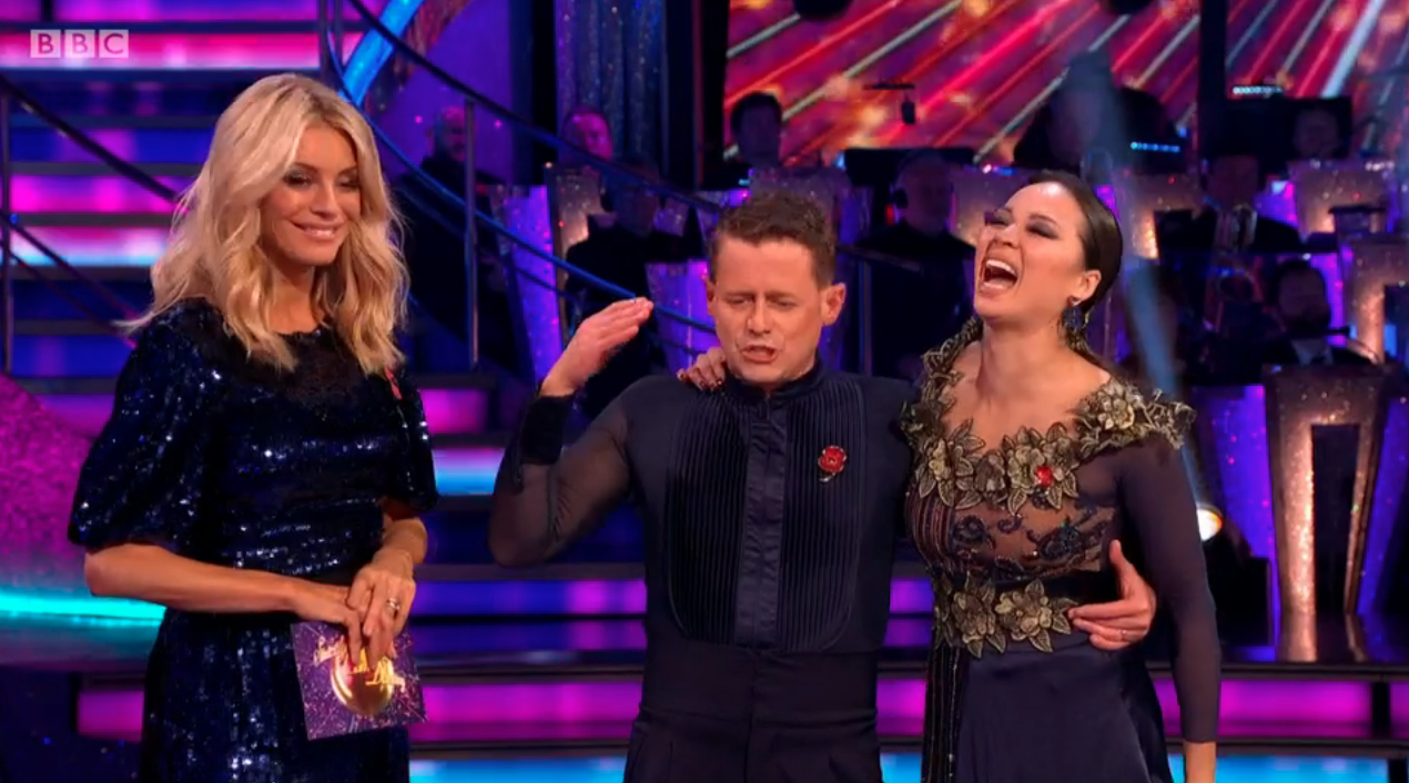 Strictly fans in stitches at Mike Bushell's final gaffe on the dance floor with Katya Jones