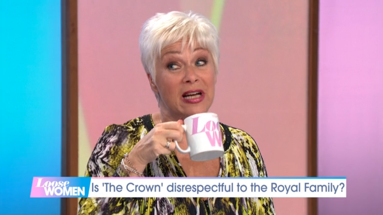 Denise Welch stuns Loose Women audience as show bosses shush her over royal gossip