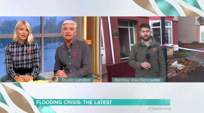 This Morning viewers slam reporter's 'bad choice of words' during segment about flood victims