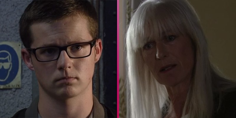 Former EastEnders star Harry Reid looks totally different as he reunites with soap legend Sian Webber