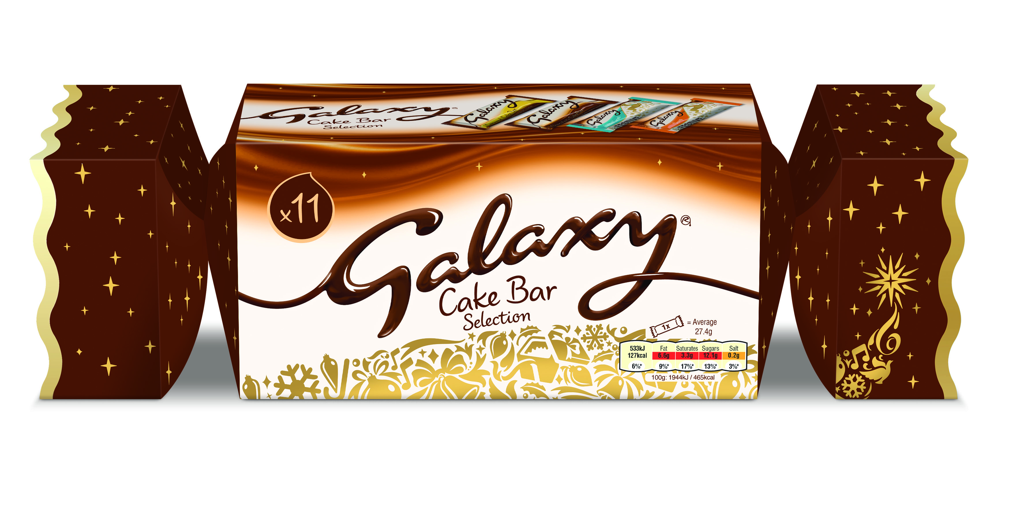 Galaxy Launches A Christmas Cracker Full Of Cake As Part Of Its
