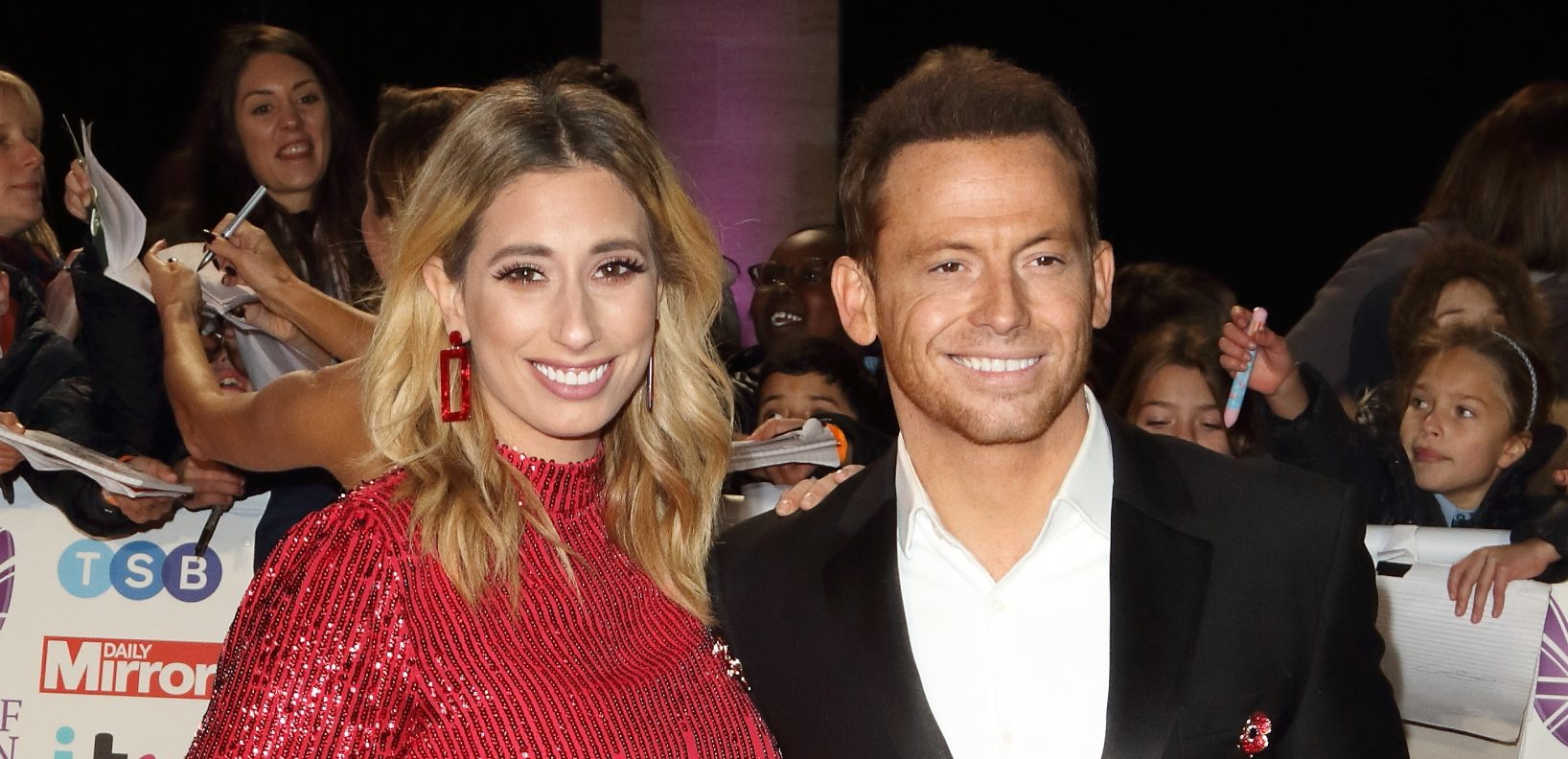 Stacey Solomon and Joe Swash reveal their hilarious family Christmas card