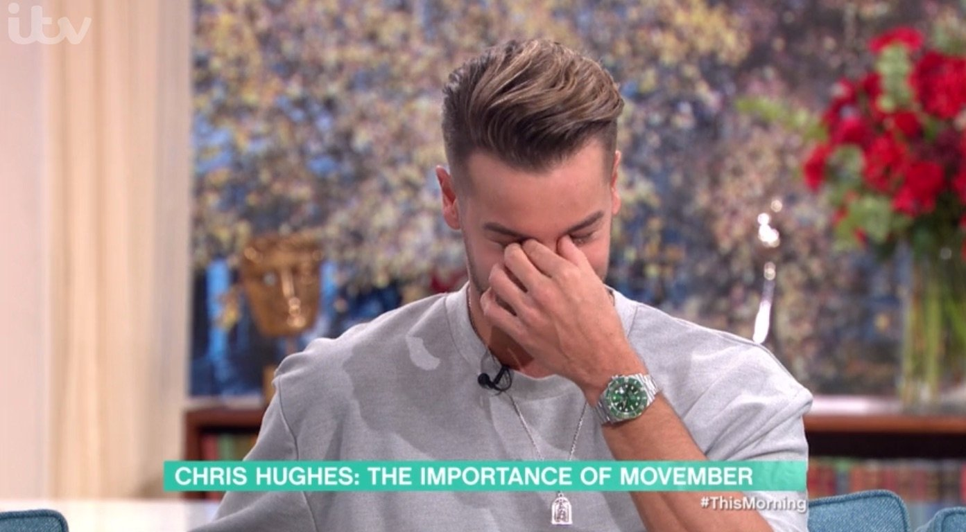 Chris Hughes tears up on This Morning after praising 'strong' girlfriend Jesy Nelson