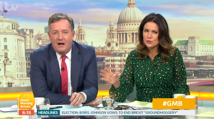 Piers Morgan admits future on GMB isn't certain as ITV extends show