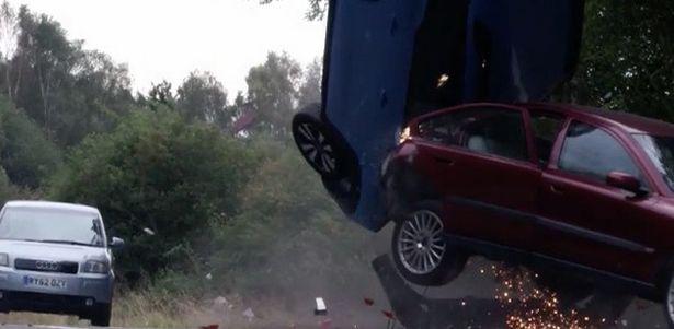 Mel Owen in car crash