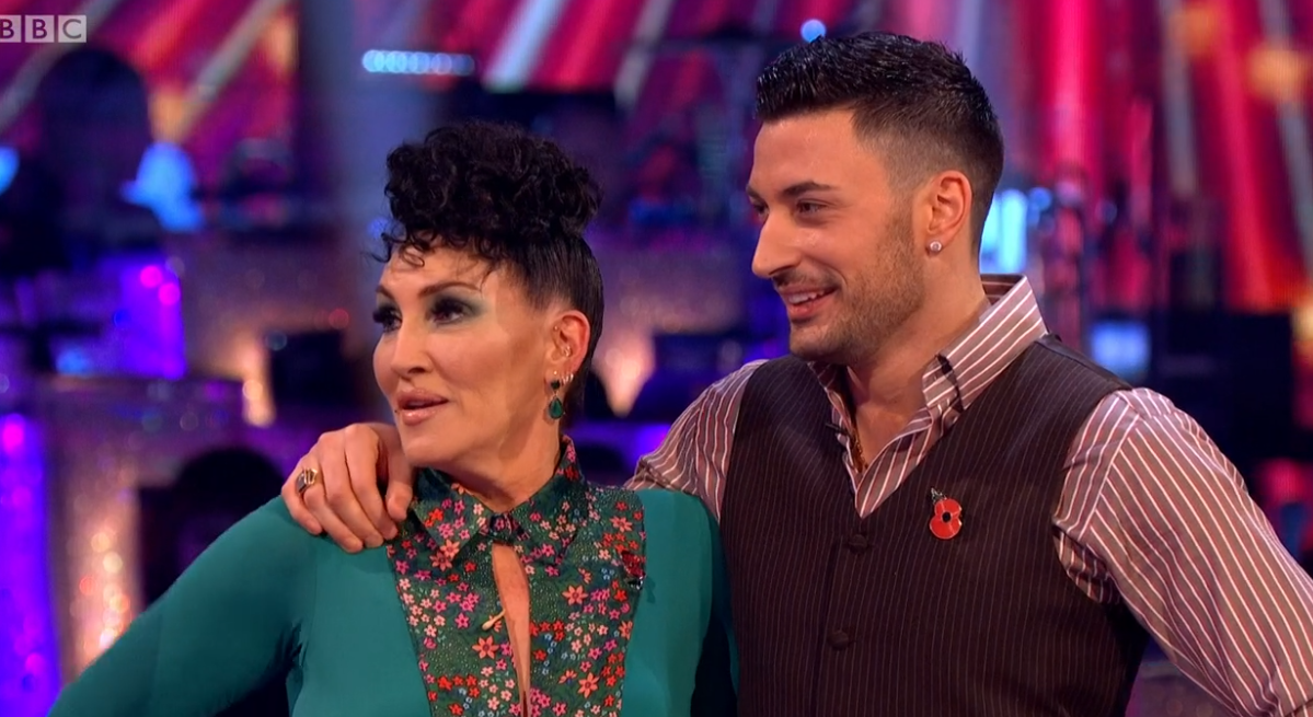 Strictly's Michelle Visage slams claims she's 'deeply unhappy after clashing with Giovanni Pernice'