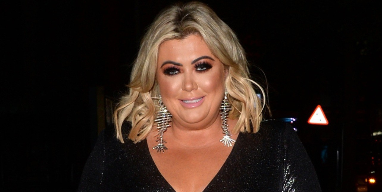 Gemma Collins shows off her new hair on the ITV Palooza red carpet
