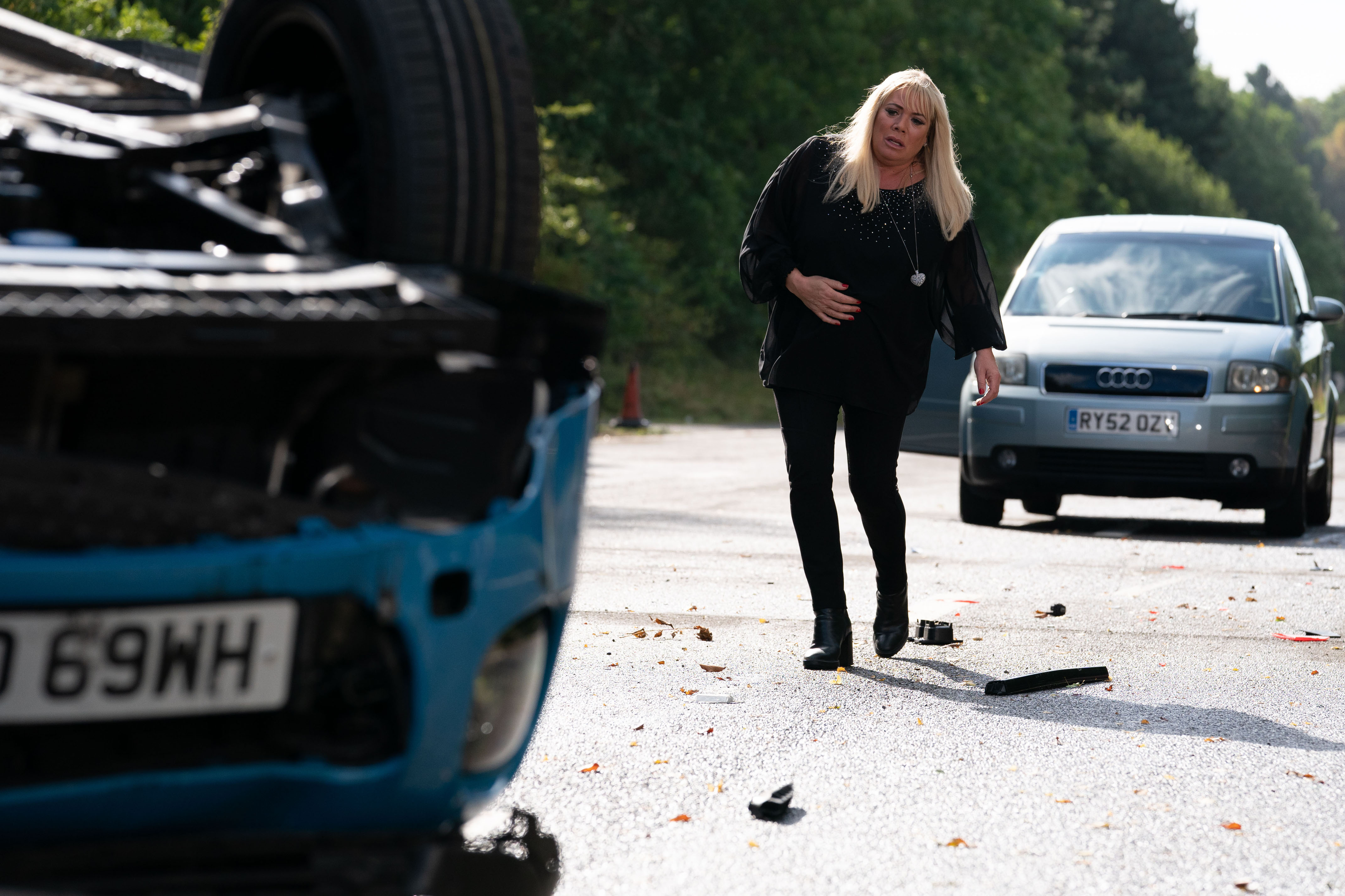 EastEnders SPOILERS: The fall out from Mel's accident revealed in new pictures
