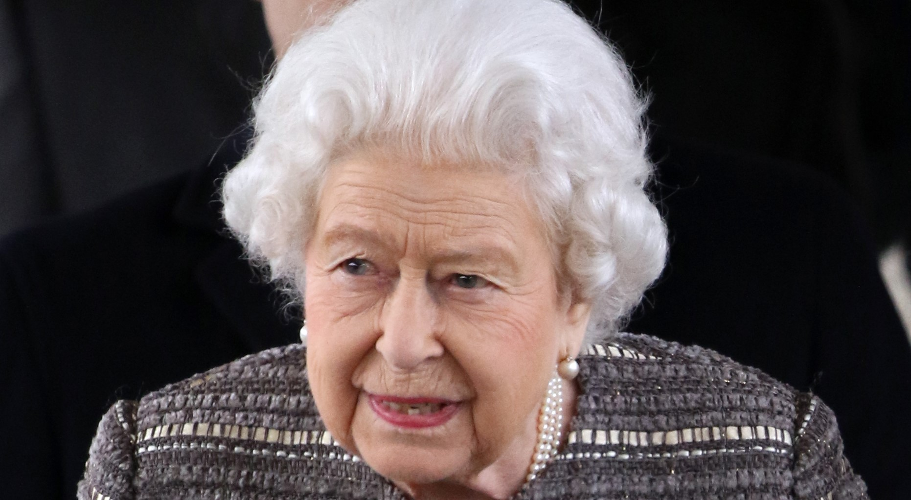 The Queen looks pretty in pink in new photo