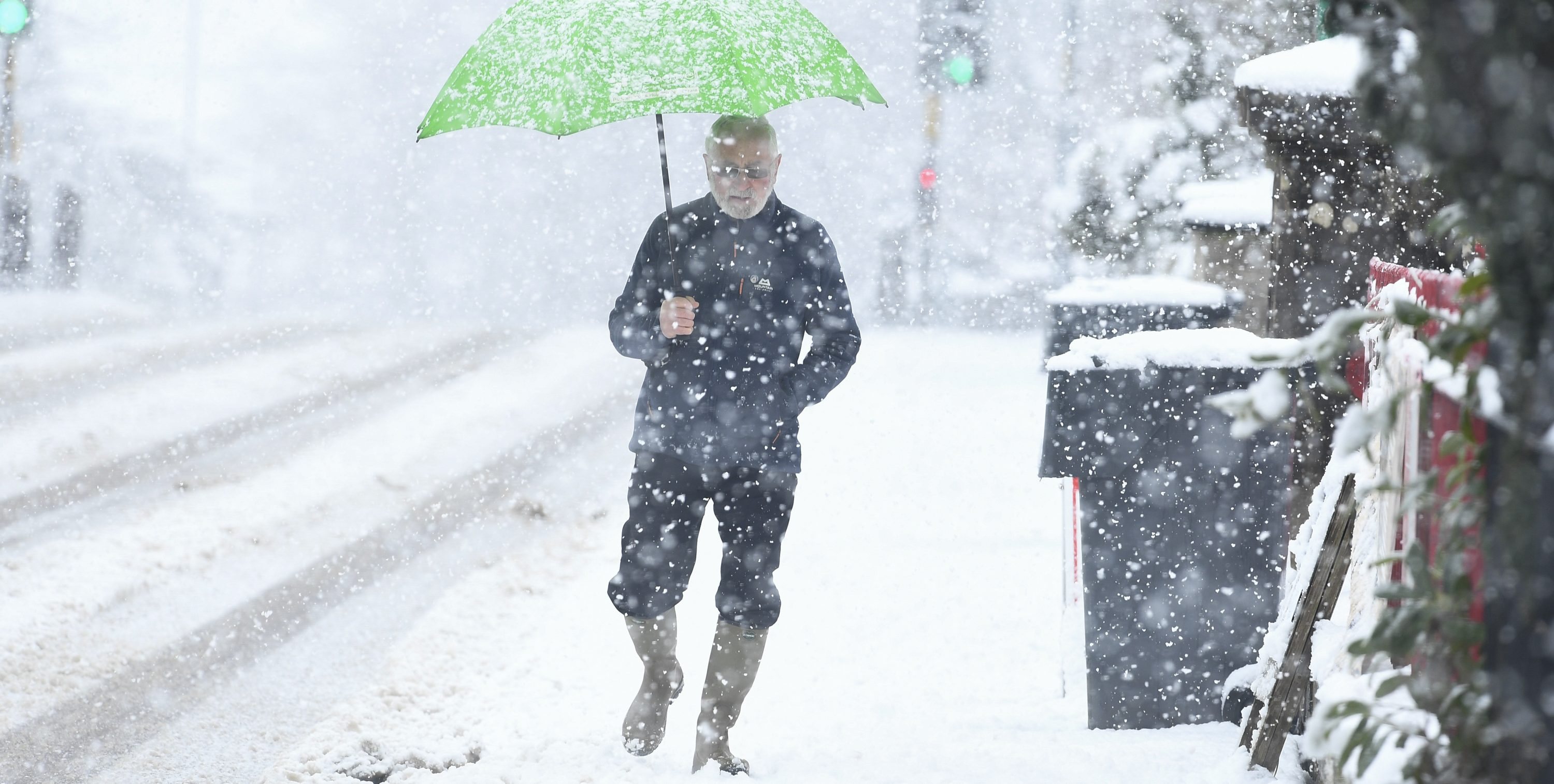 The Met Office issues severe weather warnings as snow hits parts of the UK