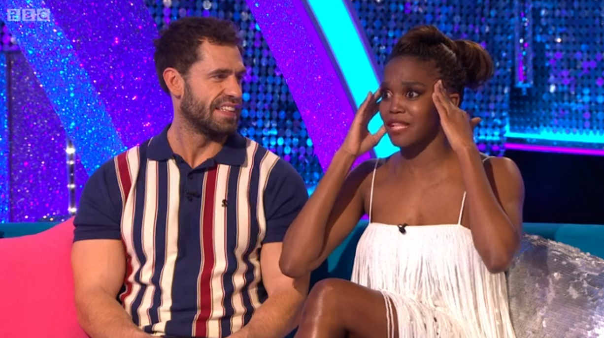 Strictly's Oti Mabuse 'feared for her life' after lift went wrong in rehearsals with Kelvin Fletcher