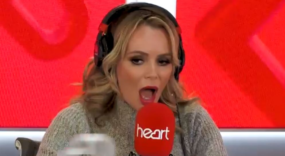 Amanda Holden fuming as school forces daughter Hollie to 'ask for world peace instead of toys' at Christmas