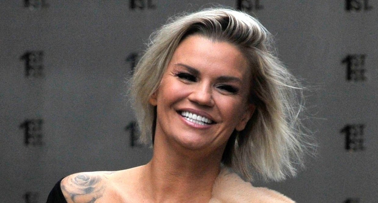 Kerry Katona shares a snap of her super-slim waist as she shows off her weight loss