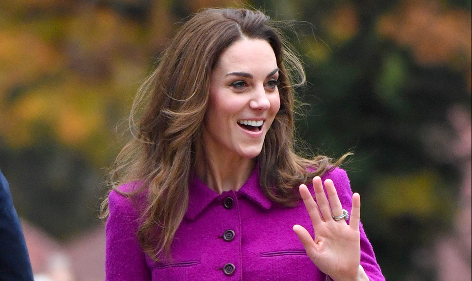 Kate stuns in recycled outfit as she takes the train to latest royal engagement