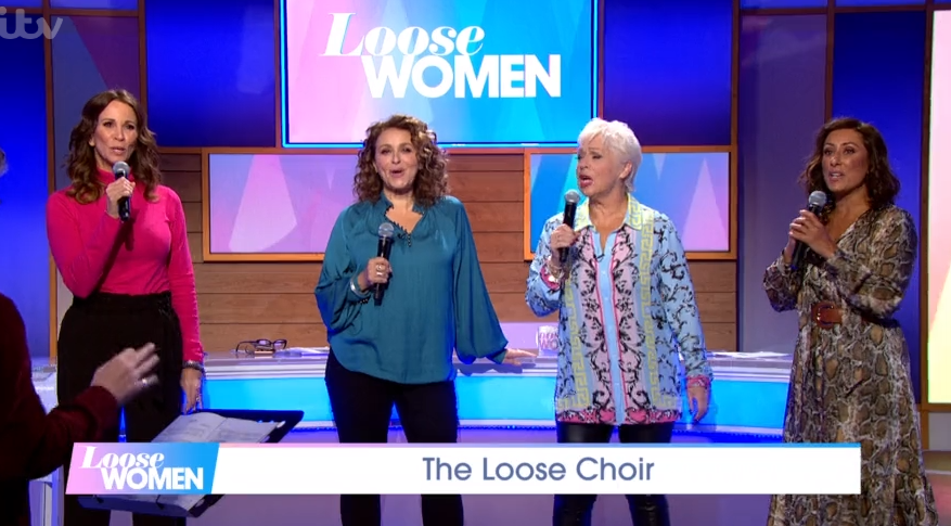 Loose Women viewers mock presenters as they perform song live on air