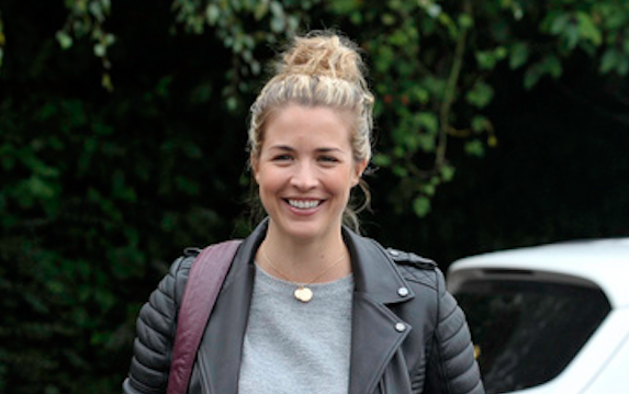 Gemma Atkinson takes baby Mia to meet all the Strictly professionals in Blackpool