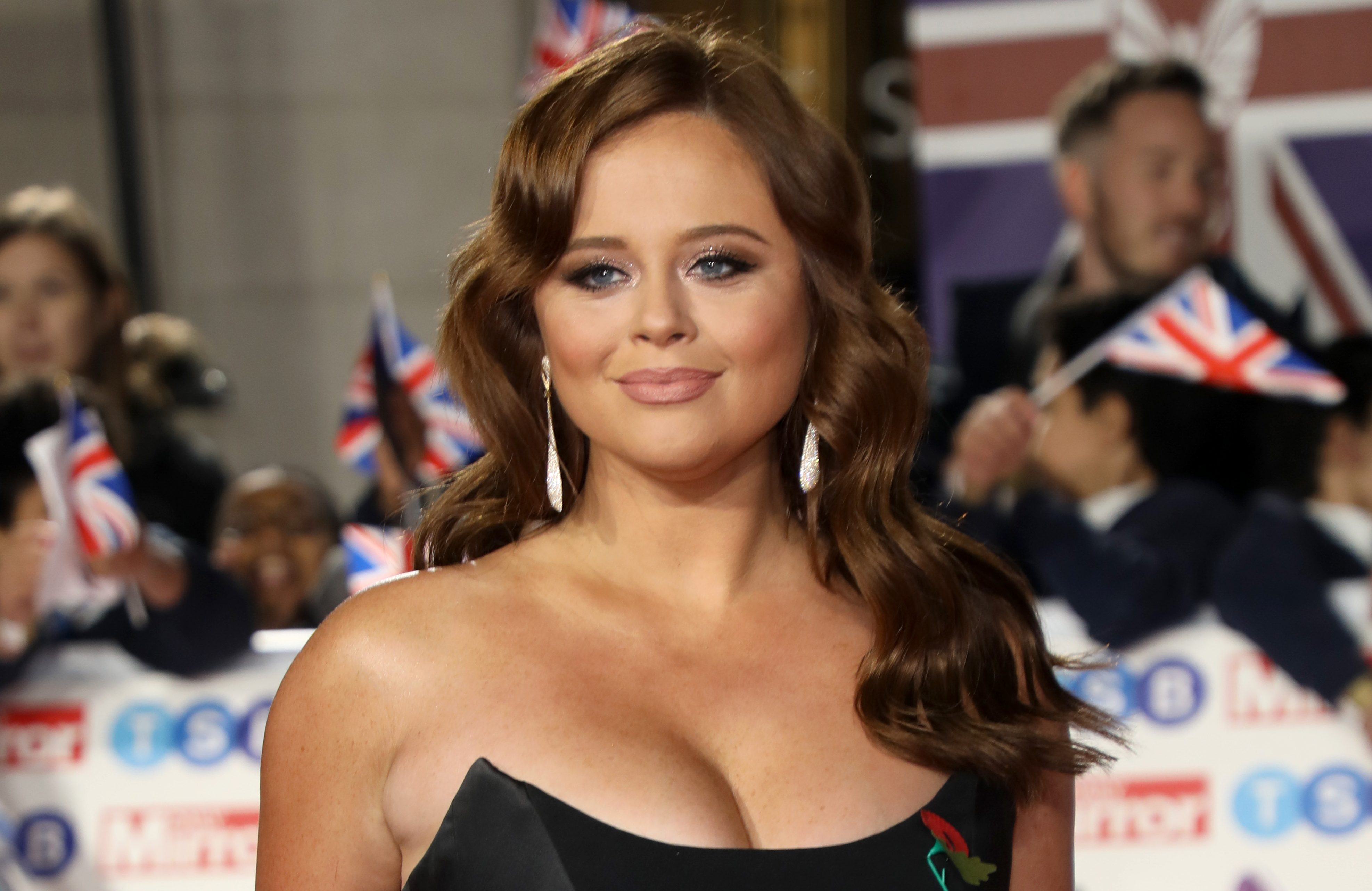 'Scared' Emily Atack reassured by fans as I'm A Celebrity presenter strips down to her bikini